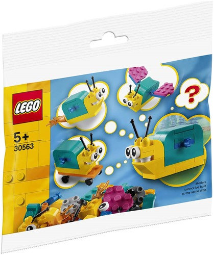 LEGO Classic Bouw je eigen slak (polybag) - 30563