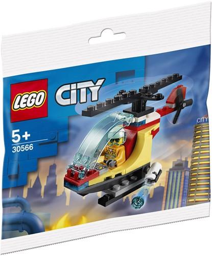 LEGO City Brandweer helikopter (polybag) - 30566