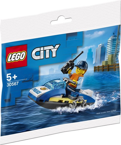 LEGO City Politie Waterscooter (polybag) - 30567