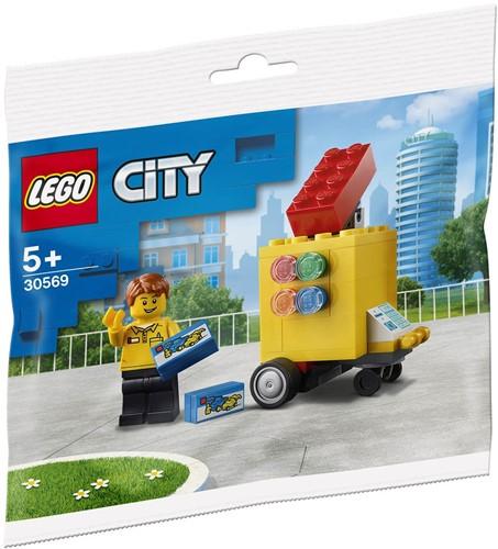 LEGO City LEGO® Verkoopstand (polybag) - 30569