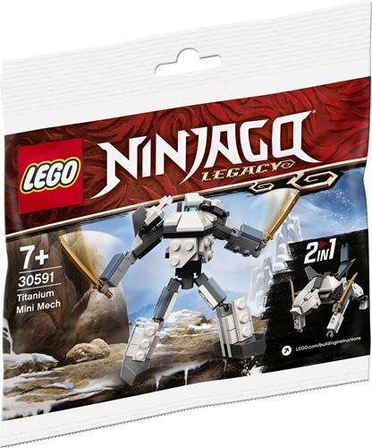 LEGO NINJAGO® Titanium Mini Mech (polybag) - 30591