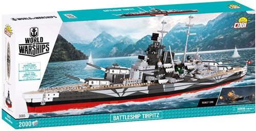 COBI World of Warships 3085 Battleship Tirpitz