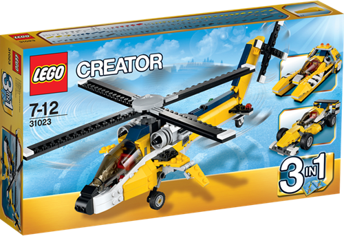 LEGO Creator 31023 Gele Racers