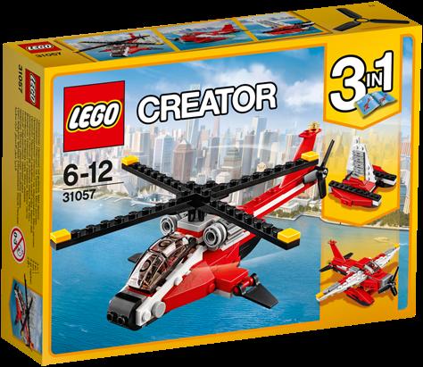 LEGO Creator 31057 Rode helikopter