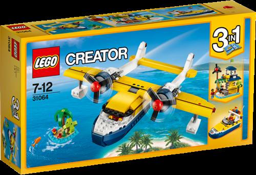 LEGO Creator 31064 Eiland-avonturen