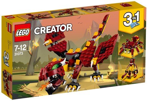 LEGO Creator 31073 Mythische wezens