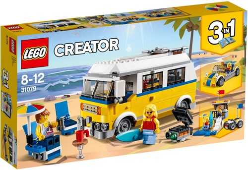 LEGO Creator Zonnig surferbusje - 31079