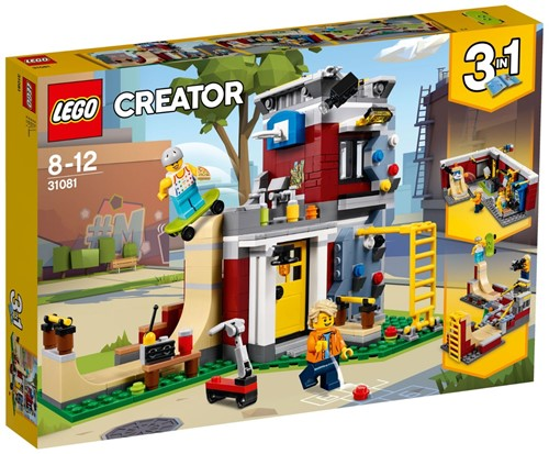 LEGO Creator Modulair skatehuis - 31081