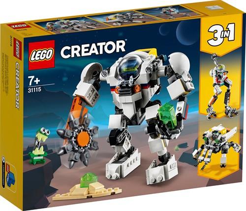 LEGO Creator Ruimtemijnbouw-mecha - 31115