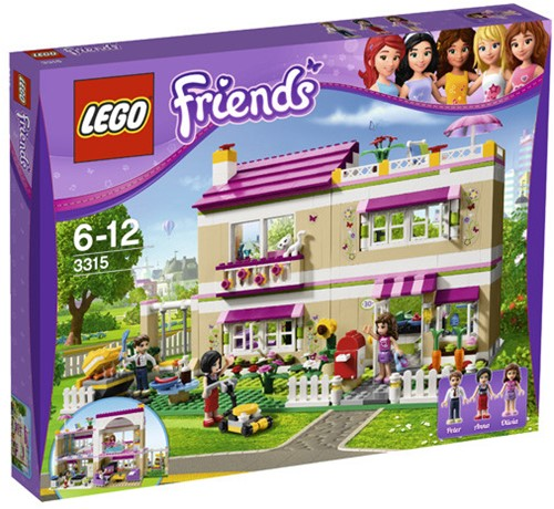 LEGO Friends 3315 Olivia's huis