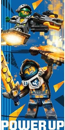 LEGO® NEXO KNIGHTS™ Power Up Badlaken 70x140cm