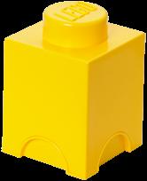 LEGO Storage Brick 1 Geel - 4001