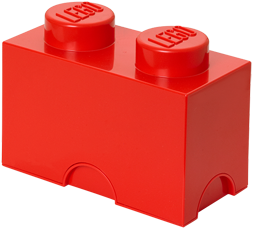 LEGO Storage Brick 2 Rood - 4002