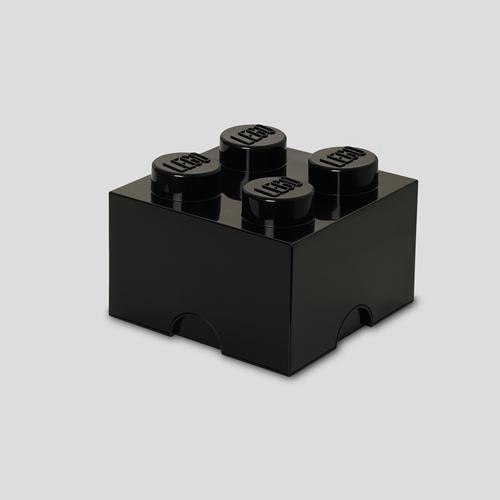LEGO Storage Brick 4 Zwart - 4003