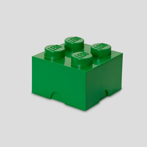 LEGO Storage Brick 4 Groen - 4003