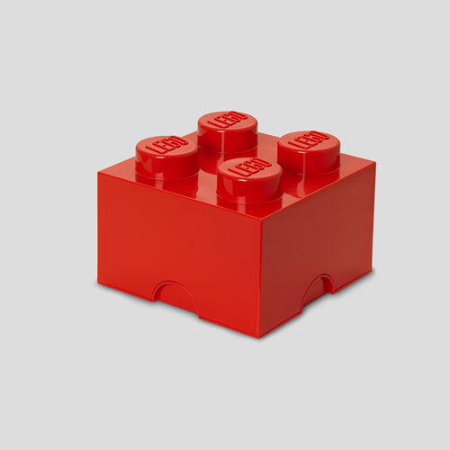 LEGO Storage Brick 4 Rood - 4003