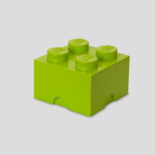LEGO Storage Brick 4 Lime Groen - 4003