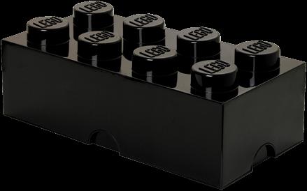 LEGO Storage Brick 8 Zwart - 4004