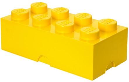 LEGO Storage Brick 8 Geel - 4004