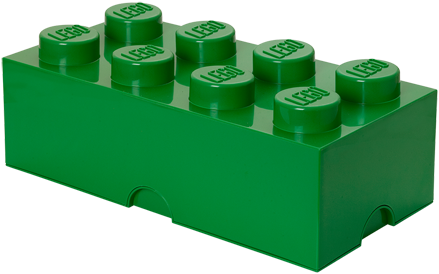 LEGO Storage Brick 8 Groen - 4004