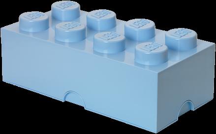 LEGO Storage Brick 8 Licht Blauw - 4004