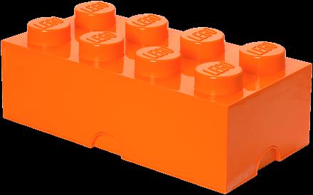 LEGO Storage Brick 8 Oranje - 4004