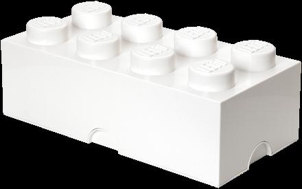 LEGO Storage Brick 8 Wit - 4004