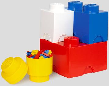 LEGO Storage Brick Multi-Pack 4-delig - 4015