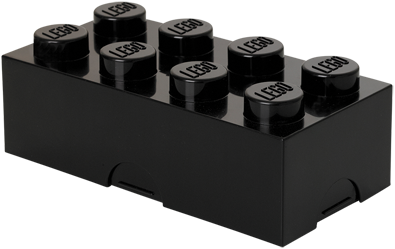 LEGO Lunchbox 8 Zwart - 4023