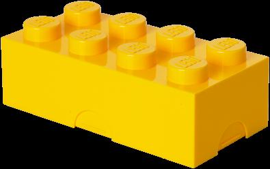 LEGO Lunchbox 8 Geel - 4023