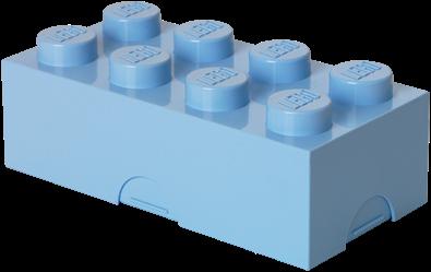 LEGO Lunchbox 8 Licht Blauw - 4023