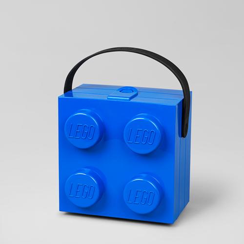 LEGO Lunchbox met handvat Blauw - 4024
