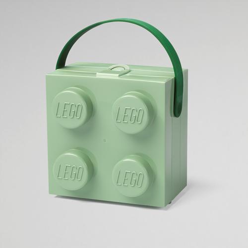 LEGO Lunchbox met handvat Zandgroen - 4024