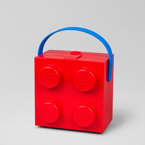 LEGO Lunchbox met handvat Rood - 4024