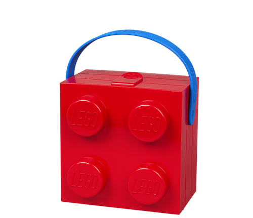 LEGO Lunchkoffer 4 Rood - 4024