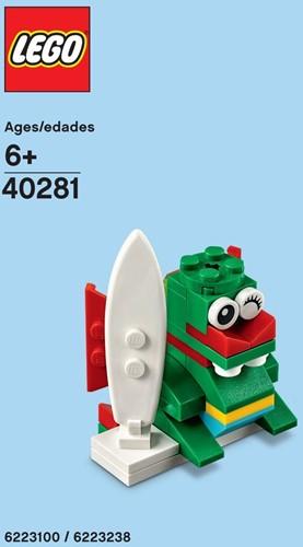 LEGO® Surfer Draak (polybag) - 40281
