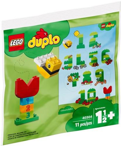 LEGO DUPLO 40304 Mijn eerste LEGO DUPLO getallen (polybag)