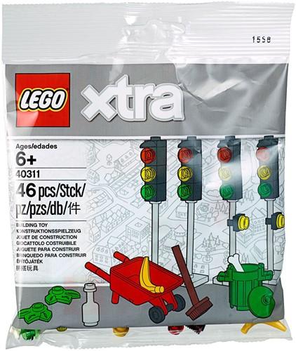 LEGO xtra Verkeerslichten (polybag) - 40311