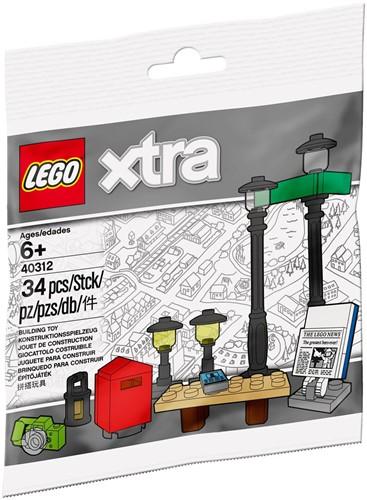 LEGO xtra Straatlantaarns (polybag) - 40312