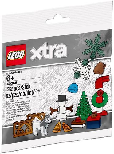 LEGO xtra Kerstaccessoires (polybag) - 40368