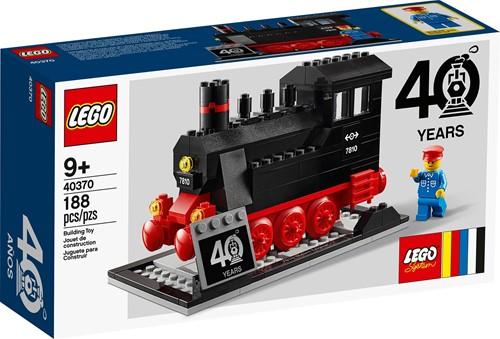 LEGO® Treinen 40th Anniversary Set - 40370 (Met lichte doosschade)