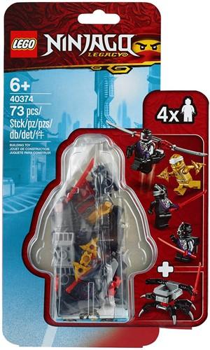 LEGO NINJAGO® Gouden Zane MF Accessoireset - 40374