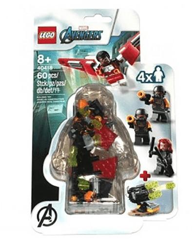 LEGO Marvel Super Heroes 40418 Falcon & Black Widow duoteam