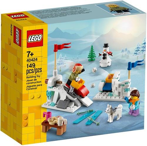 LEGO® Winters sneeuwballengevecht - 40424