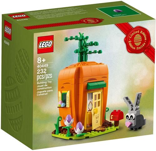 LEGO® Wortelhuisje van de Paashaas - 40449