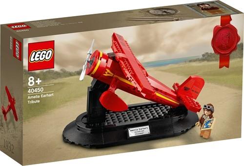 LEGO® Eerbetoon aan Amelia Earhart - 40450