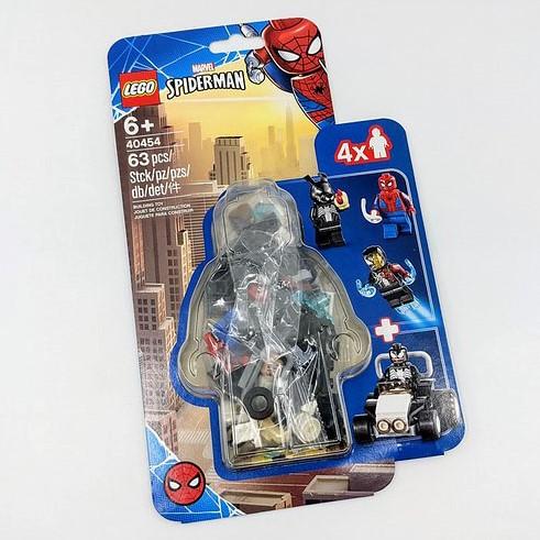 LEGO Marvel Spider-Man: Spider-Man versus Venom en Iron Venom - 40454