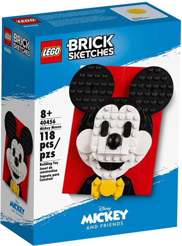 LEGO Brick Sketches™ Mickey Mouse - 40456
