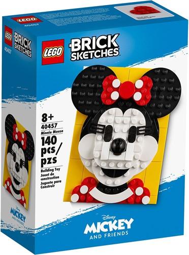 LEGO Brick Sketches™ Minnie Mouse - 40457