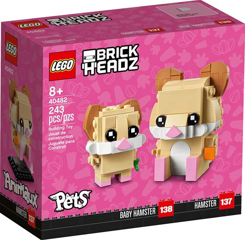 LEGO BrickHeadz™ Hamster - 40482